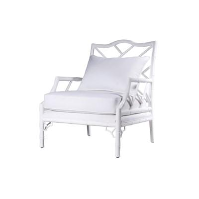 Kennedy Carver Chair - White Lacquer