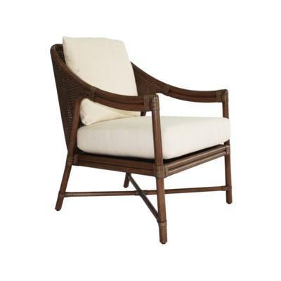Linwood Lounge Chair, Rattan - Cinnamon