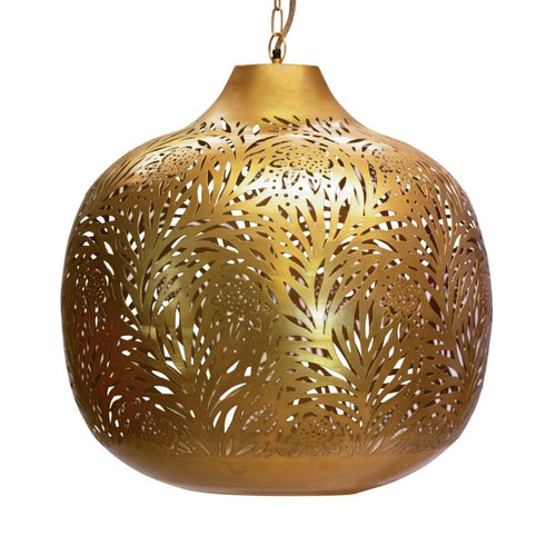 Marigold Chandelier in Brass