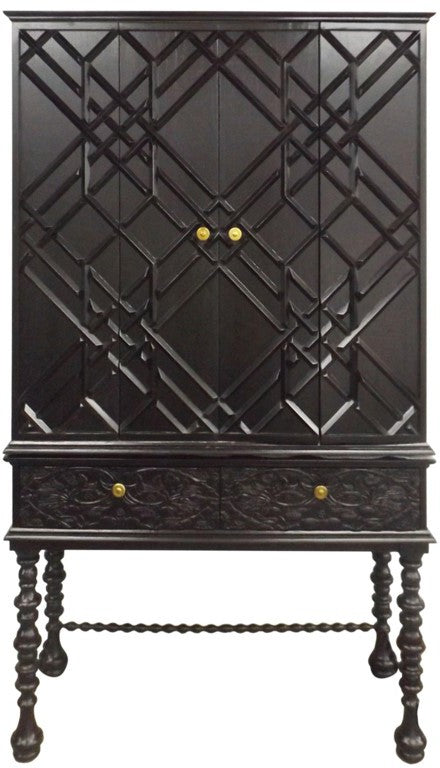 Mayfair Hutch - Black