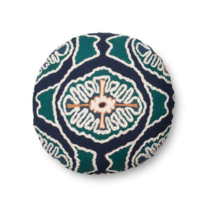Justina Blakeney Cushion - BLUE / TEAL - P0410