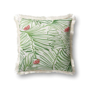 Justina Blakeney Cushion - GREEN / MULTI - P0481