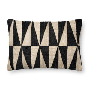 Justina Blakeney Cushion - BLACK / BEIGE - P0667