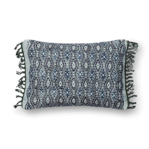 Justina Blakeney Cushion - BLUE / GREY - P0407
