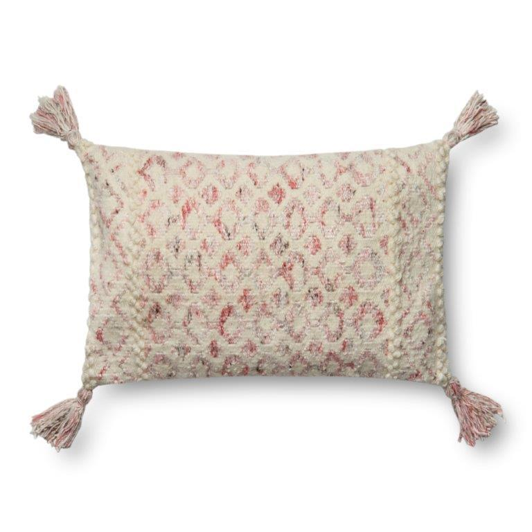 Justina Blakeney Cushion - PINK / IVORY - P0644