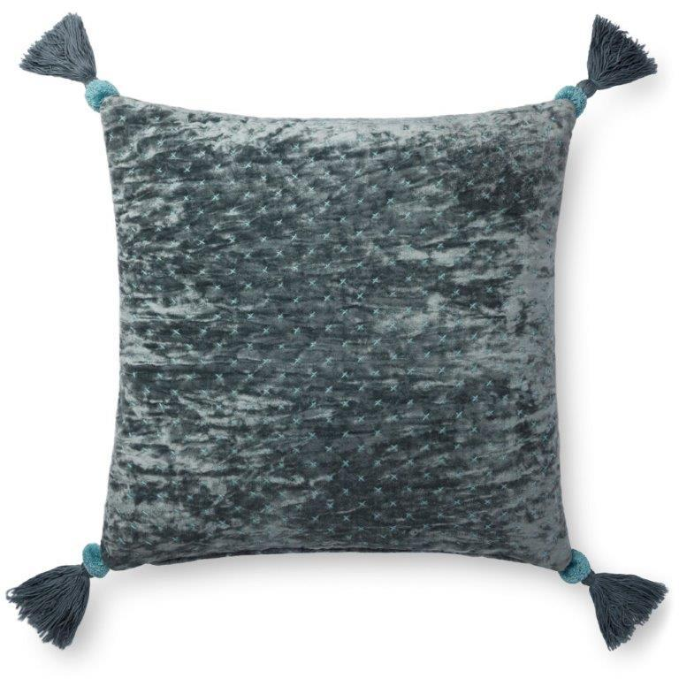 Justina Blakeney Cushion - BLUE / GREY - P0663