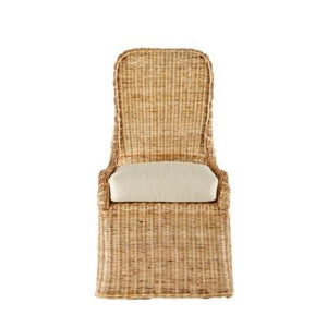 Pamona Wicker Side Chair - Natural