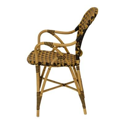 Pinnacles Arm Chair - Natural/Black
