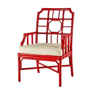 Regeant Arm Chair - Antique Red