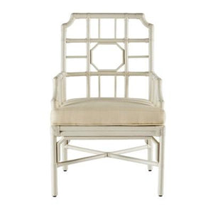 Regeant Arm Chair - White