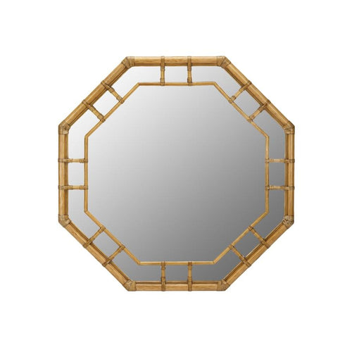 Regeant Octagonal Wall Mirror - Nutmeg
