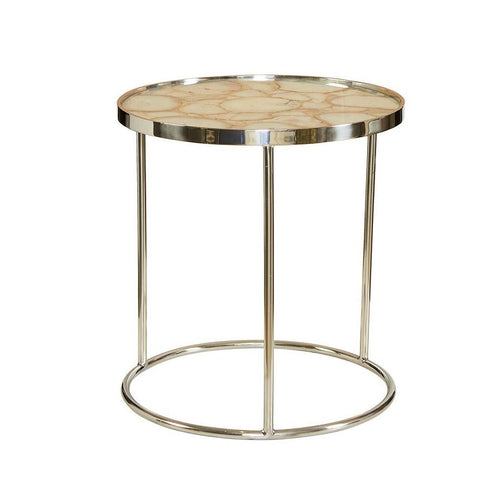 Shanghai Agate Side Table