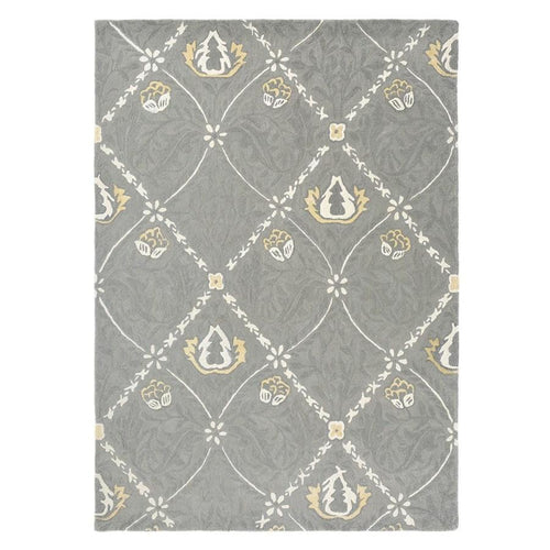 Trellis Rug in Lightish Grey