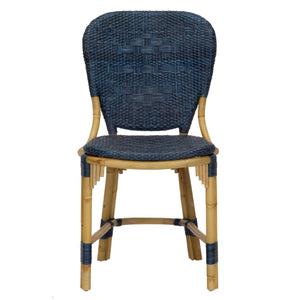 Fota Bistro Side Chair in Navy
