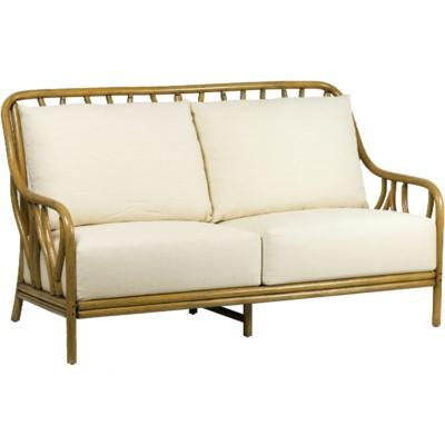 Wishbone Love Seat - Nutmeg