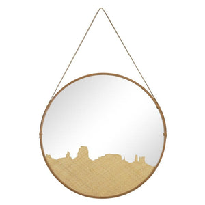 Sonora Medium Mirror in Natural