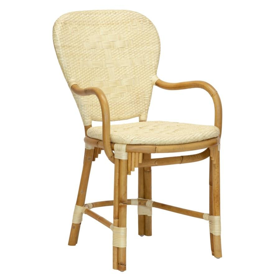 Fota Bistro Arm Chair in Natural