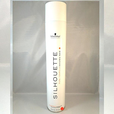 Silhouette Flexible Hairspray 750ml ( White Single Unit)