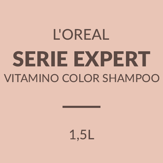 L'OREAL SERIE EXPERT VITAMINO COLOR SHAMPOO (1500ML)