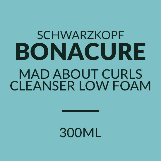 Schwarzkopf MAD ABOUT CURLS CLEANSER LOW FOAM 300ML