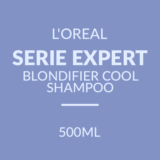 L'OREAL SERIE EXPERT BLONDIFIER COOL SHAMPOO (500ML)