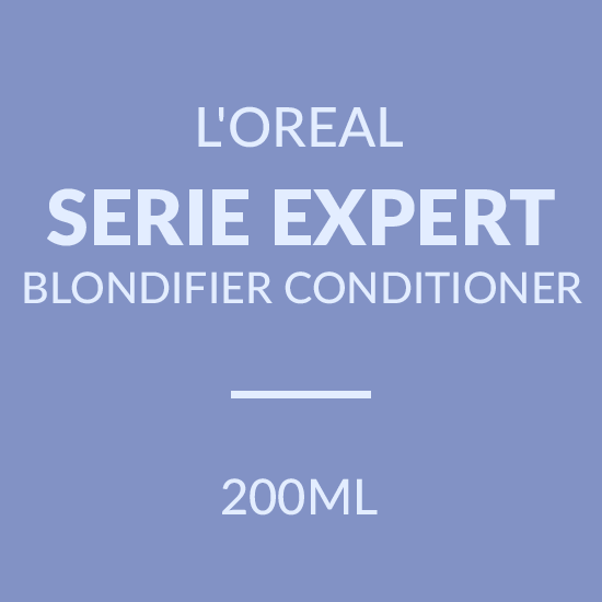 L'OREAL SERIE EXPERT BLONDIFIER CONDITIONER (200ML)
