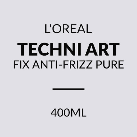 TECNI ART FIX ANTI-FRIZZ PURE 400ML