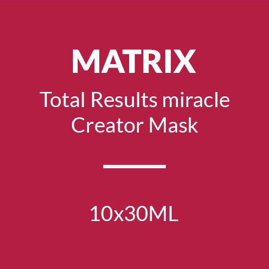 MATRIX Total Results MIRACLE CREATOR MASK (10X30ML)