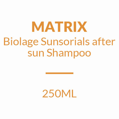 MATRIX BIOLAGE SUNSORIALS AFTER SUN SHAMPOO (250ML)