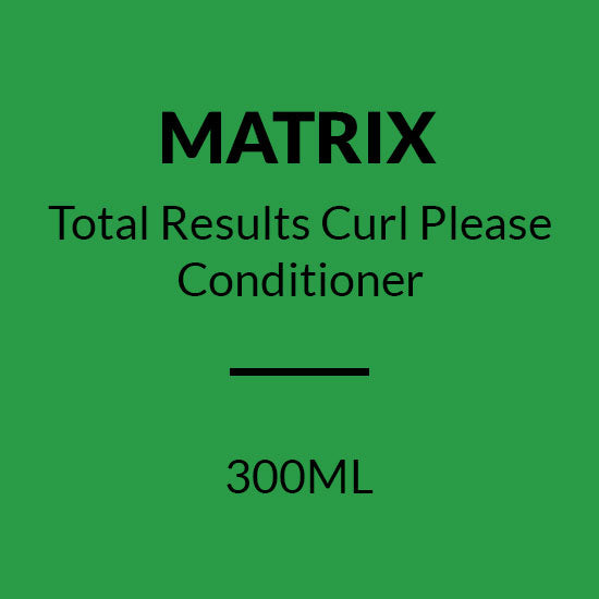 MATRIX Total Results CURL PLEASE CONDITIONER (300ML)