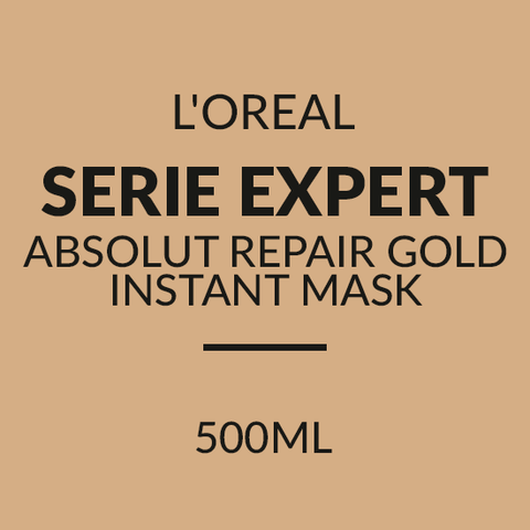 L'OREAL SERIE EXPERT ABSOLUT REPAIR GOLD INSTANT MASK (500ML)