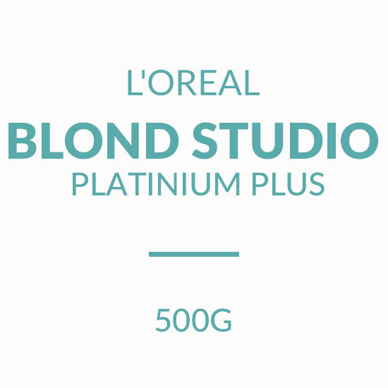 L'OREAL  BLOND STUDIO Platinium Plus 500G