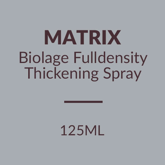 MATRIX BIOLAGE FULLDENSITY THICKENING SPRAY (125ML)