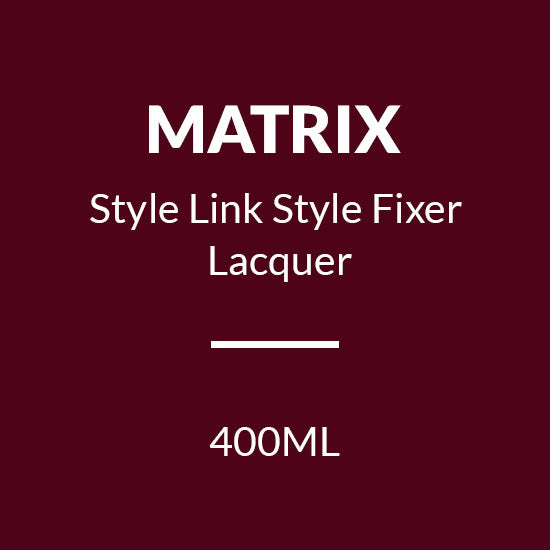 MATRIX STYLE LINK STYLE FIXER LACQUER (400ML)