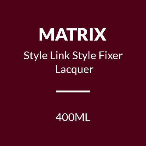 MATRIX STYLE LINK STYLE FIXER LACQUER 400ML