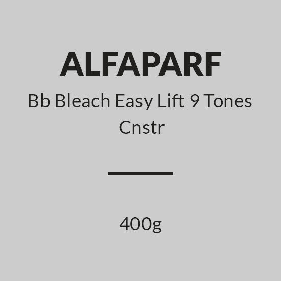 ALFAPARF  Bleach High Lift 9 Tones Cnstr 400g