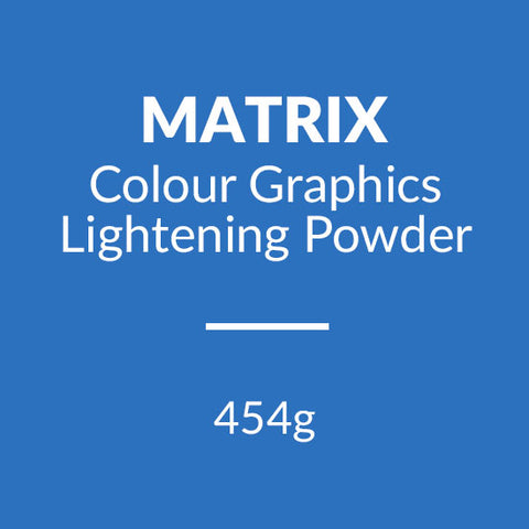 Matrix Colour Graphics Lightening Powder 454g