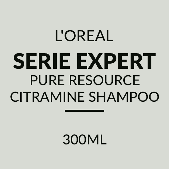 L'OREAL SERIE EXPERT PURE RESOURCE CITRAMINE SHAMPOO (300ML)
