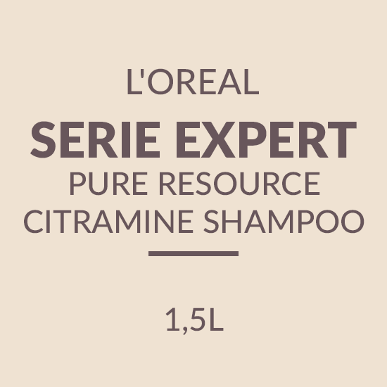 L'OREAL SERIE EXPERT PURE RESOURCE CITRAMINE SHAMPOO (1500ML)