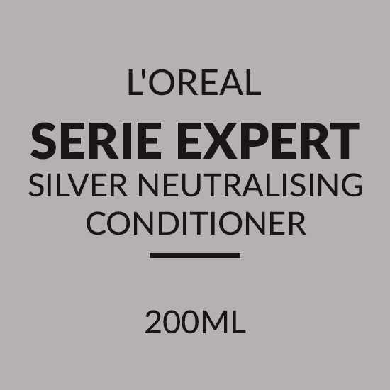 L'OREAL SERIE EXPERT SILVER NEUTRALISING CONDITIONER (200ML)