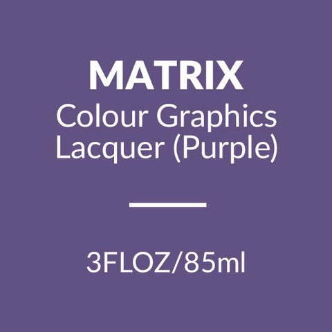 Matrix Colour Graphics Lacquer 85ml (Purple)
