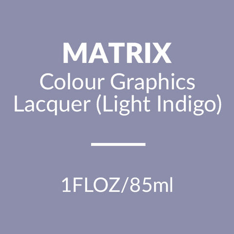 Matrix Colour Graphics Lacquer 85ml (Light Indigo)