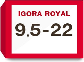 Igora Royal  9,5-22