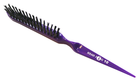 Head Jog 10 - Slim Line Styling Brush (Purple)