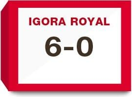 Igora Royal  6-0