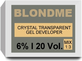 BLONDME Crystal Transparant Gel Developer 6% 20 Vol