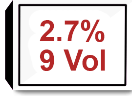 Developer 2.7% 9 Volume