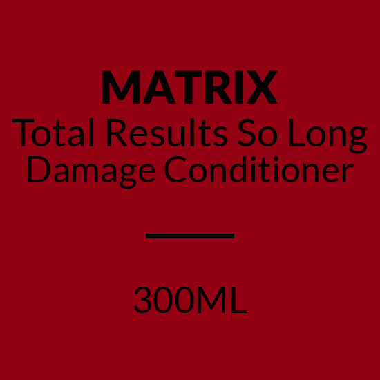 MATRIX Total Results SO LONG DAMAGE CONDITIONER (300ML)