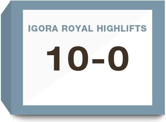 Igora Royal Highlifts 10-0