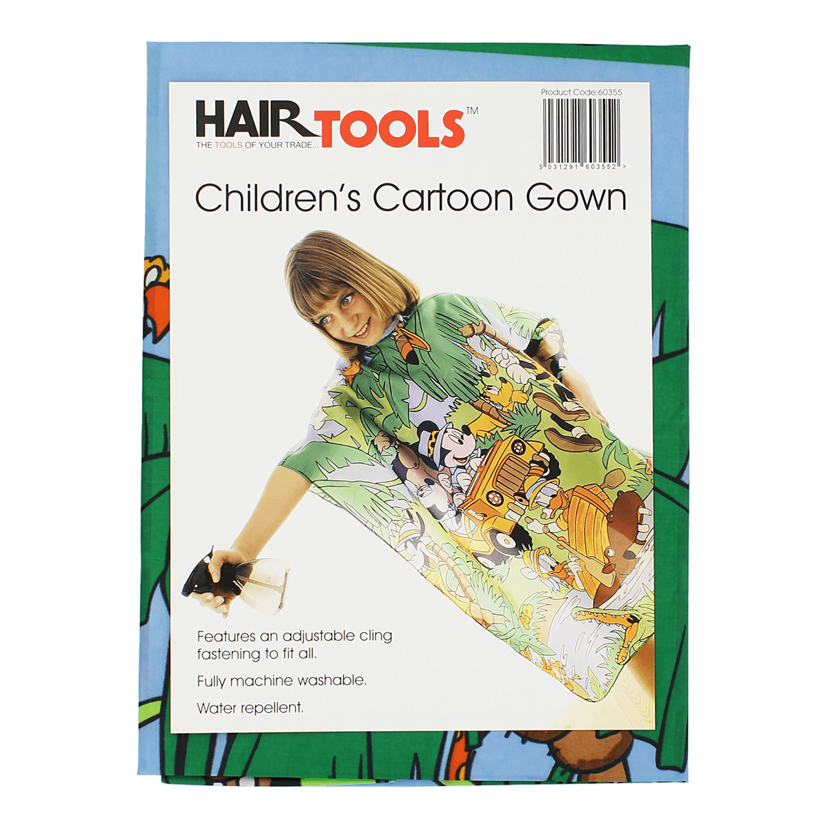 HairTools - Children's Cartoon Gown